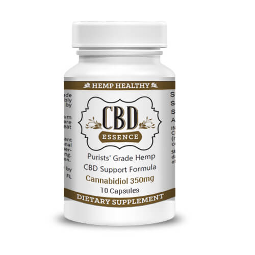 CBD Capsules With 350mg CBD (1) from CBDOilAngels.com